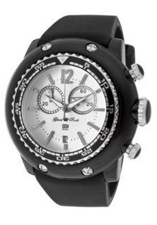 Glam Rock Watch GD1116 Womens Miami Beach Chrono White Dial Black