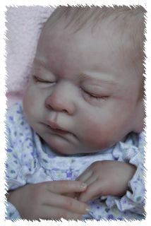 Reborn Custom Made Gena OOAK Doll Lifelike Fake Art Artist Baby