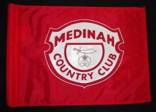 Medinah Course Used Golf Pin Flag Ryder Cup Masters Tiger Woods PGA