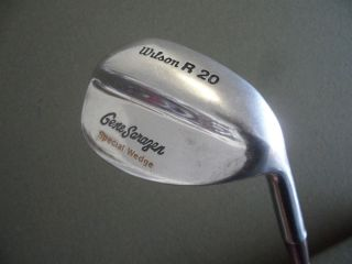 Vintage RARE Gene Sarazen Special Wedge Wilson R 20 Single Golf Club