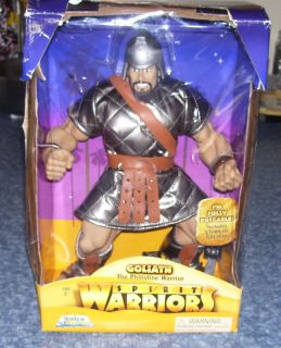 2007 Spirit Warriors Goliath The Phillistine Warrior Action Figure 12