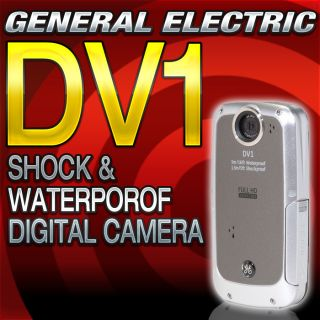 GE General Electric DV1 1080p HD Digital Video Camera Gray New