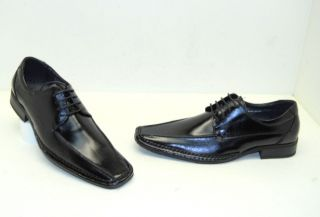 Giorgio Venturi Mens Dress Shoe Oxford Black Size 9 New