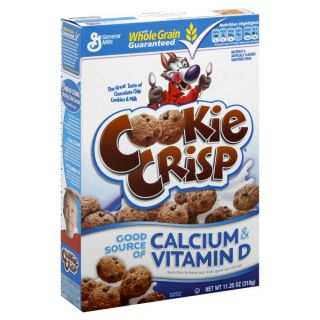 General Mills~COOKIE CRISP~The Great Taste of Choc Chip Cookies & Milk