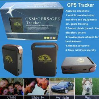 2012 Mini Real Time Spy Mini GPS GSM GPRS GPS Child Car Tracker