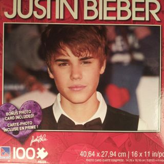 Justin Bieber Puzzle Boyfriend Never Say Never One Less Lonely Girl