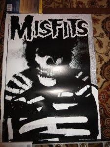Ghost Poster 90s UK 25x35 RARE Samhain Glenn Danzig Punk KBD