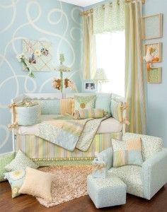 Glenna Jean Finley 8 PC Crib Nursery Bedding Set New