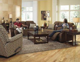 Bryson Power Reclining Sofa Console Loveseat and Swivel Glider
