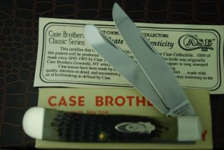 Case Bros Classic XX Gowanda Green Bone Trapper Knife