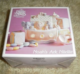 Precious Moments Noahs Ark Night Light New in Box Darling