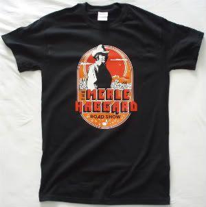 Merle Haggard Tour T Shirt Vtg George Jones Strait Hank Williams Jr