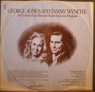 George Jones and Tammy Wynette Promo Radio Interview