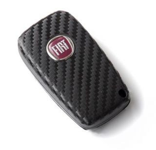 Fiat Grande Punto Abarth Carbon Fiber Look Key Cover