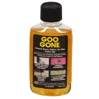 Goo Gone Adhesive Remover Cleaner Grease 3 Oz