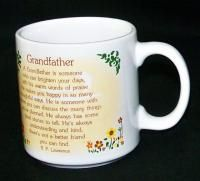 Crest Grandfather Grandpa Coffee Mug Cup R P Lawrence