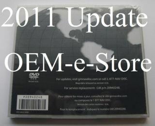 NEW 2011 Version 6 0c Update GM Navigation DVD Map North America U S