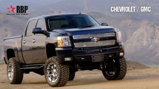 Black 3 RX 3 Side Step Nerf Bars 2007 2012 Chevy/GMC Silverado/Sierra