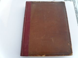 RECENT IDEALS OF AMERICAN ART GEORGE SHELDON 1890 LEATHER FULL PAGE