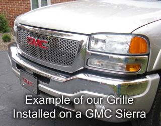GMC Yukon XL 00 06 Billet Front Grille Polished Stainless Truck Parts