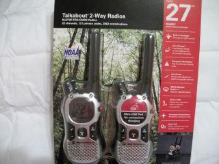 Motorola Talkabout 2 Radios MJ270R FRS GMRS Radios