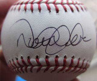 Derek Jeter Yankees single signed MLB Baseball Ball STEINER auto