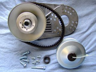 Go Kart Torque Converter 3 4 Shaft 40 41 Chain Replaces TAV 2