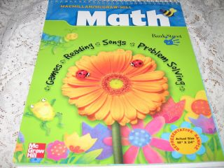 Math Kindergarten Teachers Resource Book Macmillan McGraw Hill