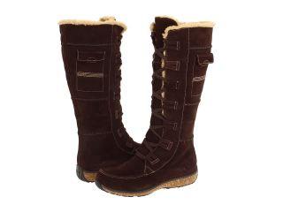 Timberland Granby Tall Zip Waterproof Boot Dark Brown Suede 21632