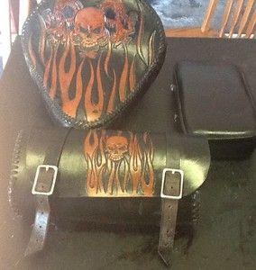 Custom Leather Seat Tool Bag P Pad