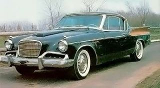 Die Cast Replica 1 18 Studebaker Gold Hawk 1957 White 10