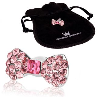 CaseCrown Swarovski Elements Ribbon Charm Accessory for Apple iPhone 5