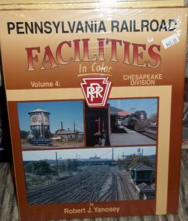 Morning Sun Books: Pennsylvania Railroad Facilities V4 Chesapeake