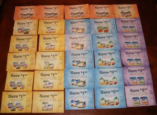 Gerber Coupons Formula Food Juice Cereal $45 00 Worth