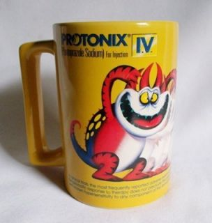 Protonix Gerd Monster Coffee Mug Cup Drug Rep RARE