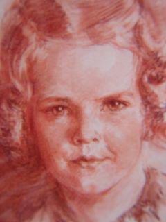 Gerda Ploug SARP 1942 Original Chalk/Pastel Greece & Denmark Princess