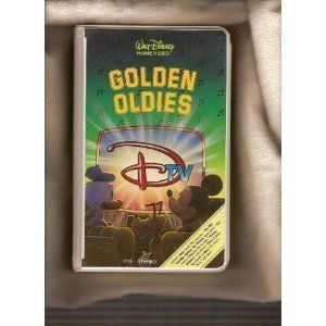 DTV Golden oldies VHS 1989 Walt Disney Mickey Mouse Donald Duck More