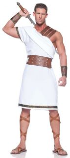 Adult Mens Greek God Roman Soldier Warrior Costumes Emperor Centurion
