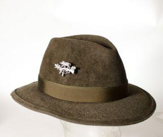 German Bavarian Wild Boar Wild Pig Wildschwein Jaeger Hunter Hat Pin