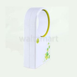 Green Portable No Leaf Air Conditioner Cooler USB Bladeless Mini