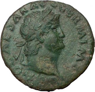 Nero Roman Emperor 65AD Quality Genuine Authentic Ancient Coin Victory