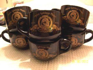 MGM Lion Logo Soup Bowls Collectibles Metro Goldwyn Mayer 6