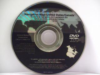 Navigation Disc DVD 2007 2008 2009 GMC Acadia 2010 Release 20883771