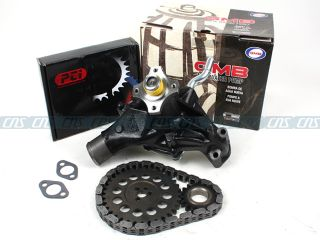 96 02 Cadillac Chevrolet GMC 5 7L Timing Chain Set Water Pump Vin R