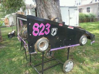 Racing Go Kart Rolling Chassis