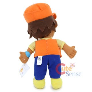 Go Diego Go 14 Diego Plush Doll Soft Stuffed Toy by Nanco   Orange