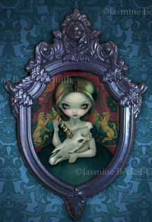 Unicorn Ghost Jasmine Becket Griffith Original Painting Lowbrow Gothic