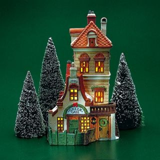 Department 56 Dickens Village Green Gate Cottage Limited Edition