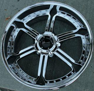 Gianelle Mallorca 24 Chrome Rims Wheels GMC Acadia Traverse