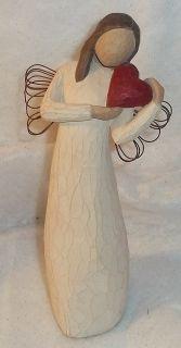 WILLOW TREE* ANGEL OF THE HEART Figurine 2000 Susan Lordi DEMDACO